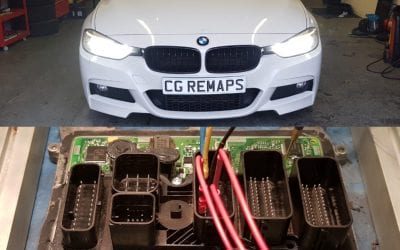 BMW F30 320I 2014 184HP STOCK NOW STAGE 1 TUNED.