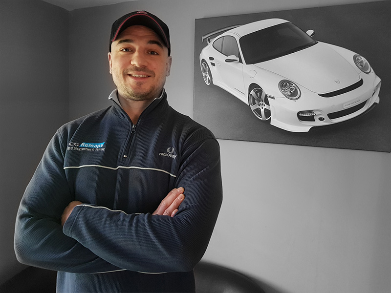 CG Remaps ECU Remap Software and development engineer.