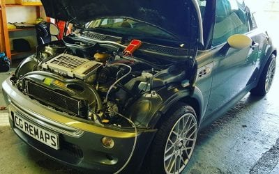 MINI COOPER S ENGINE CARBON CLEANING.