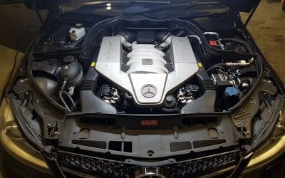 MERCEDES C63 AMG 6.3 V8 NOW STAGE 1 TUNED.