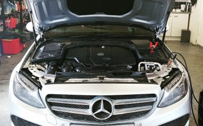 MERCEDES C220 CDI NOW TREATED TO OUR STAGE 1 REMAP UPGRADE.