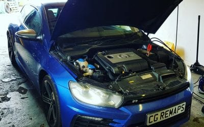 VOLKSWAGEN SCIROCCO R 2.0TFSI NOW INSTALLED WITH OUR STAGE 1 REMAP.
