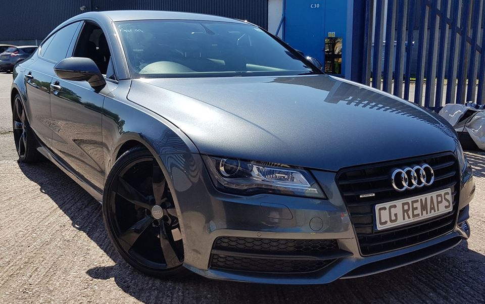 AUDI A7 3.0TDI NOW STAGE 1 TUNED AND ENGINE CARBON CLEANED.