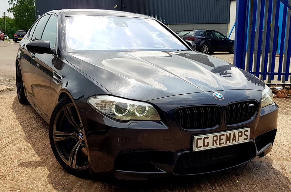 BMW F10 M5 4.4 V8 BI-TURBO WITH OUR STAGE 1 REMAP APPLIED