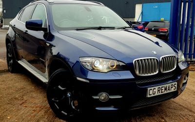 BMW X6 4.0D NOW STAGE 1 TUNED.