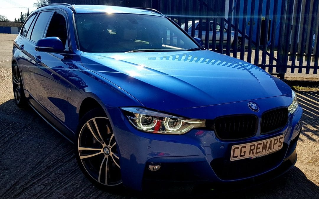 BMW 335D NOW STAGE 1 DYNO TUNED  - CG Remaps