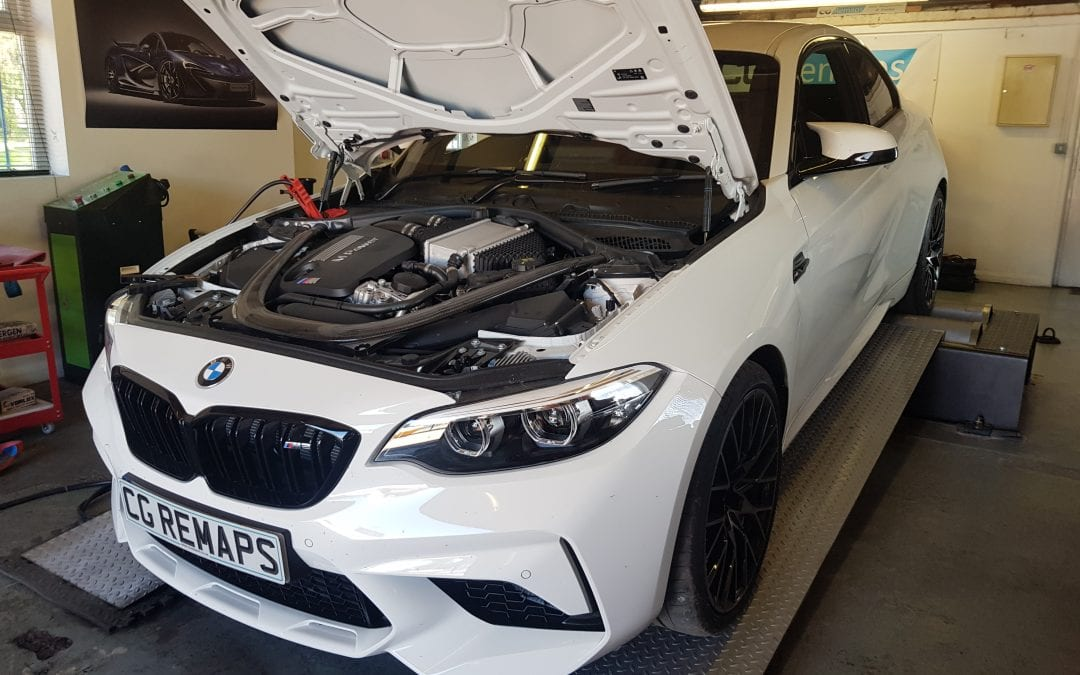 BMW M2 COMPETITION CUSTOM STAGE 1 DYNO REMAP  - CG Remaps